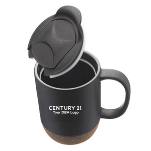 DBA Barista Cork Bottom Ceramic Mug - Century 21 Promo Shop USA