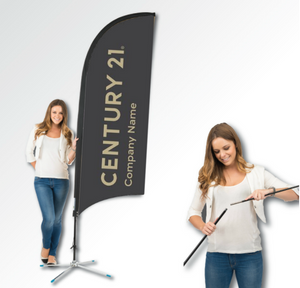 Bow Banner Kit Your DBA Logo