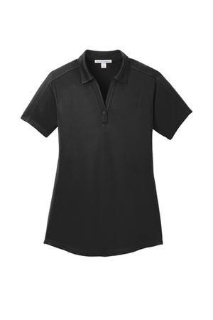 DBA Embroidery - Ladies Obsessed Diamond Jacquard Polo