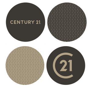 Cork Back Coaster Set - Century 21 Promo Shop USA