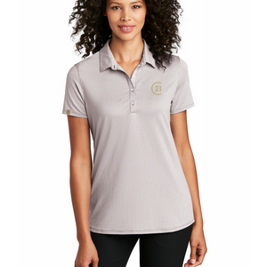 Seal Polo Ladies - Gusty Micro Check Gingham Grey/White - Century 21 Promo Shop USA