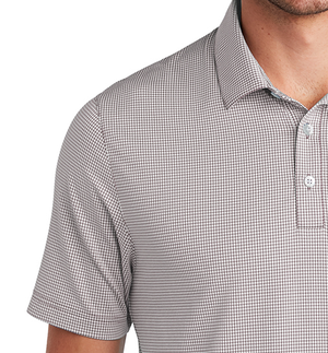 SEAL Polo Mens -Micro Check Gingham