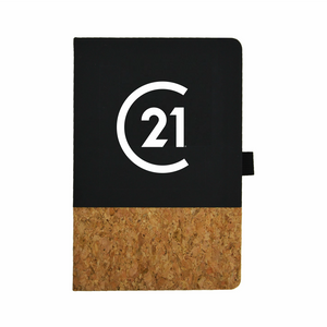 Seal Cork Notebook - Century 21 Promo Shop USA