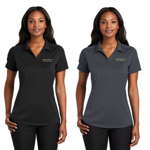 DBA Obsessed Diamond Jacquard Polo - Ladies - Century 21 Promo Shop USA