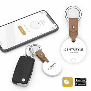 DBA Logo High Tech Keychain Finder/Locator - Century 21 Promo Shop USA