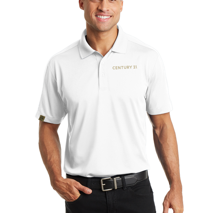 Obsessed Diamond White Polo - Mens