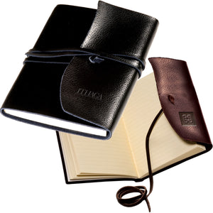 Leather Wrapped Journal - Your DBA Logo