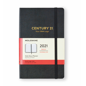Moleskine® Hard Cover Large 12-Month Daily 2021 Planner