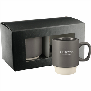 Arthur Ceramic Mug Gift Set with Your DBA Logo