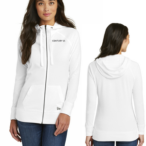Ladies Sueded Cotton Full Zip Hoodie - Century 21 Promo Shop USA