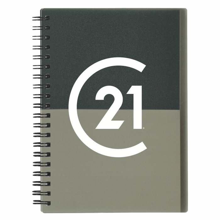 DBA Two Tone Spiral Notebook