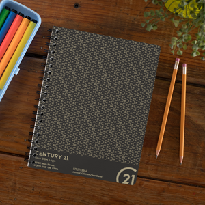 "Composition Notebooks 9"" x 11"" (College rule) - Your Logo"