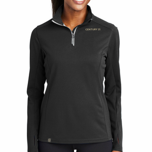Designer Textured 1/4 Zip - Ladies - Century 21 Promo Shop USA