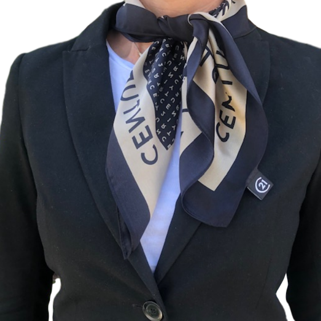 Wordmark Silk Scarf
