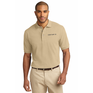 DBA Embroidery - Port Authority® Heavyweight Cotton Pique Polo