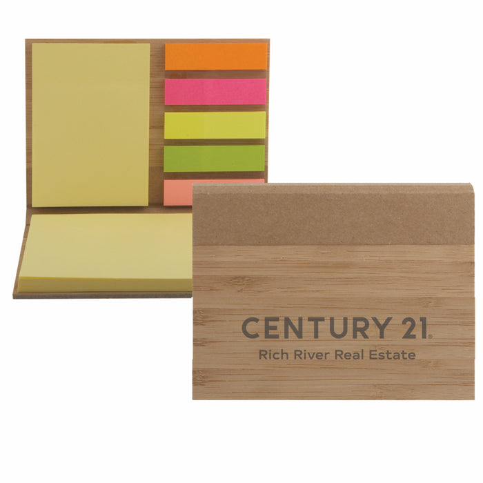DBA Bamboo Sticky Note Pad