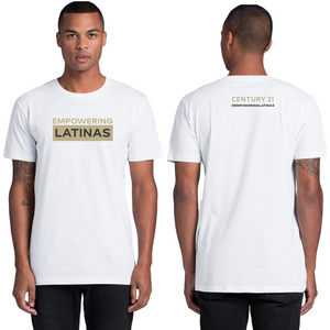 EMPOWERING LATINAS Tee, Mens - CLOSE OUT! - Century 21 Promo Shop USA