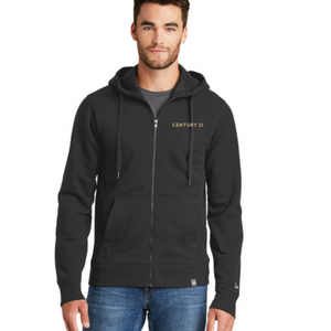 Black Zip Hoodie - Mens - CLOSE OUT - Century 21 Promo Shop USA