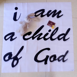 Child of God- Milestone Blanket