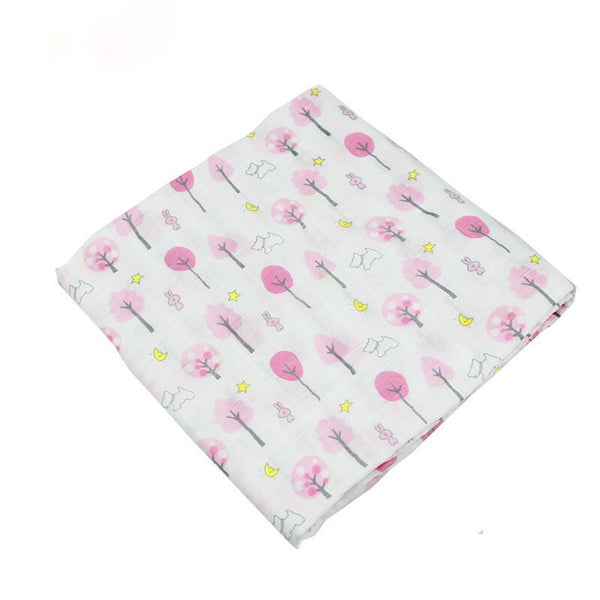 Cherry blossoms-Muslin swaddle
