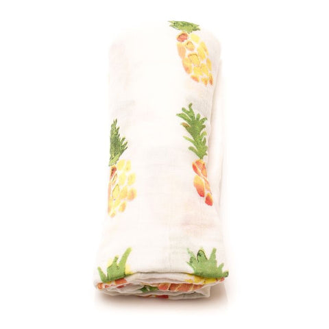 Pineapple-Muslin Swaddle