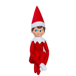 Elf on the Shelf (Girl - Blue Eyes/Light Skin)