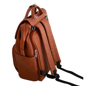 CITI LUX | Nappy Backpack (Tan)