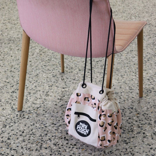 Play Pouch Mini - Leopard Blush