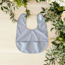Waterproof Snuggle Bib - Grey