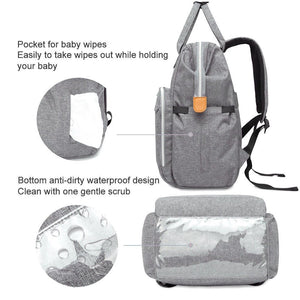 Multi-functional Nappy Backpack for Babies