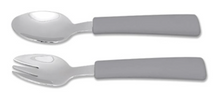 Silicone & Stainless Steel Cutlery Set