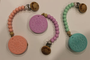 Silicone Sensory Cookie Teether