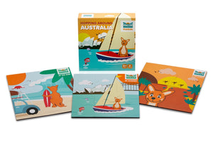 Mizzie Puzzles - Hopping around Australia