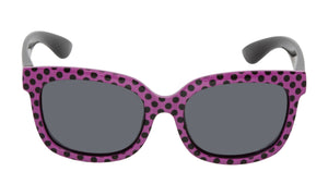 Ugly Fish Mermaid Sunglasses - Purple Polka