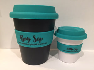 Big Sip Reusable Keep Cup (Turquoise)
