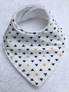 Bandana Bib - Triangles