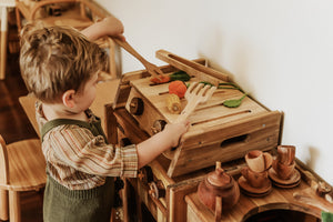 Q Toys | Wooden BBQ + Accessories
