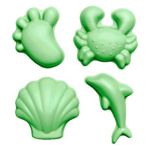 Scrunch Moulds | Light Green