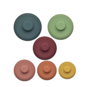 Round Silicone Stacking Tower