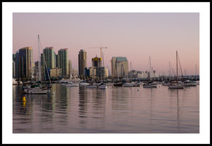 San Diego Bay at Sunset
