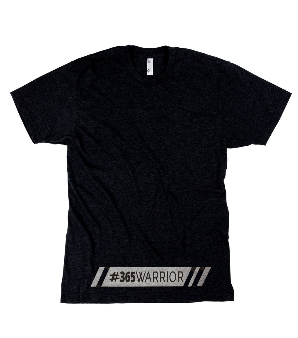 Hashtag Reflective Fitted T-Shirt