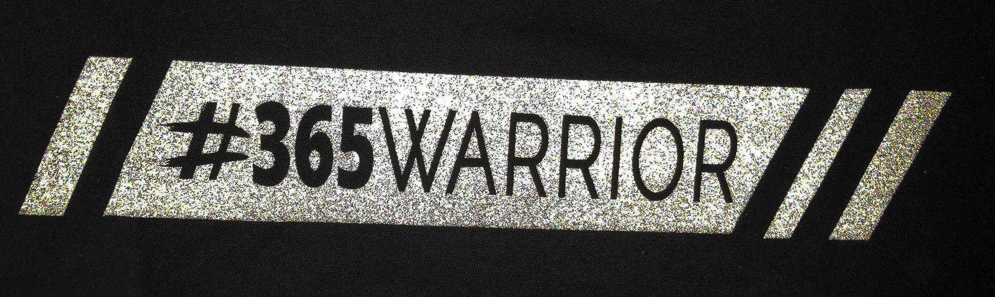 365WARRIOR Reflective Fitted T-Shirt