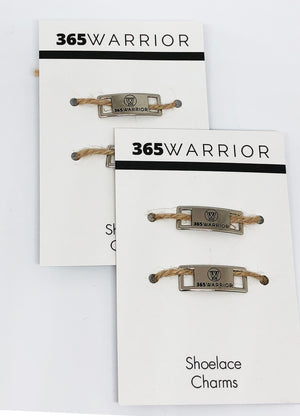 365WARRIOR Logo Shoelace Charms (Set OF 2 Charms)