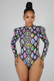 Snake Venom Bodysuit - Fortress Fashions & Furnishings
