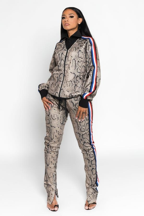 Boss Moves Python Jogger Suit