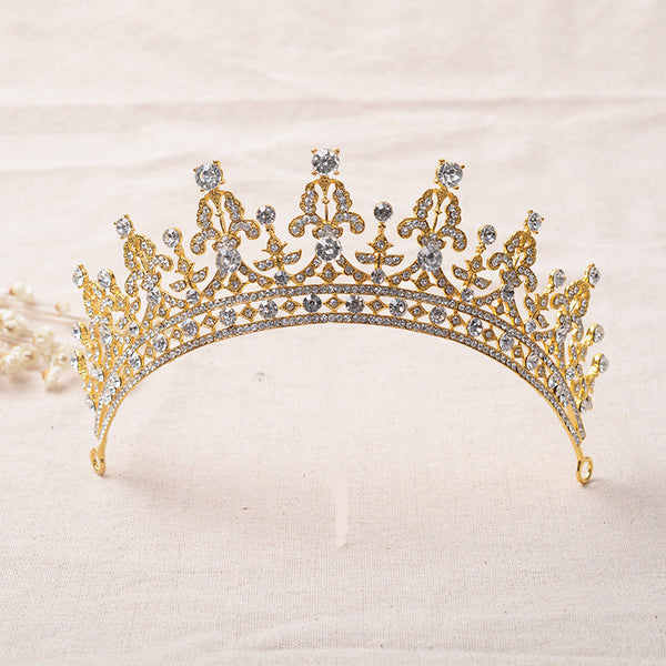 Bridal Tiara, Wedding Crown, Crystal Crown HC0033