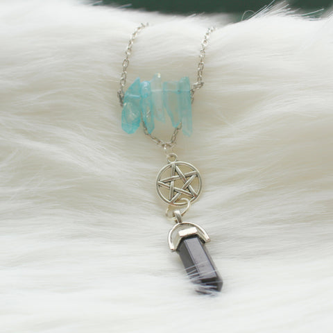 Homemade Crystal Necklace HN0005
