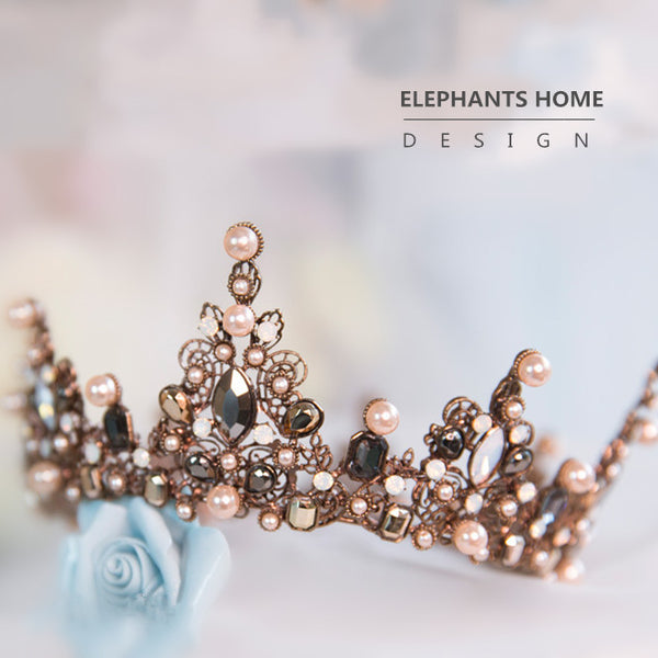 Baroque hair crown HC0028