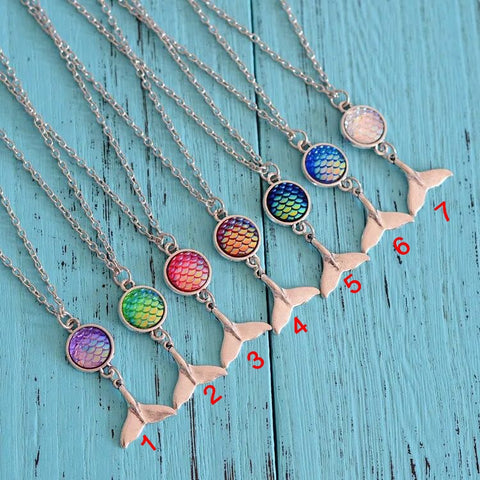 Mermaid Tale Necklace HN0009