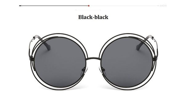Big Round Women Vintage Sunnies